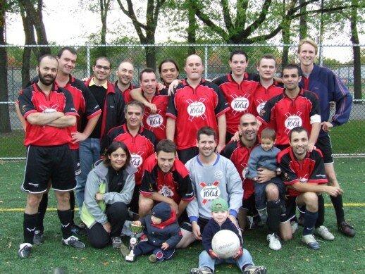 Mon équipe de foot Montréal