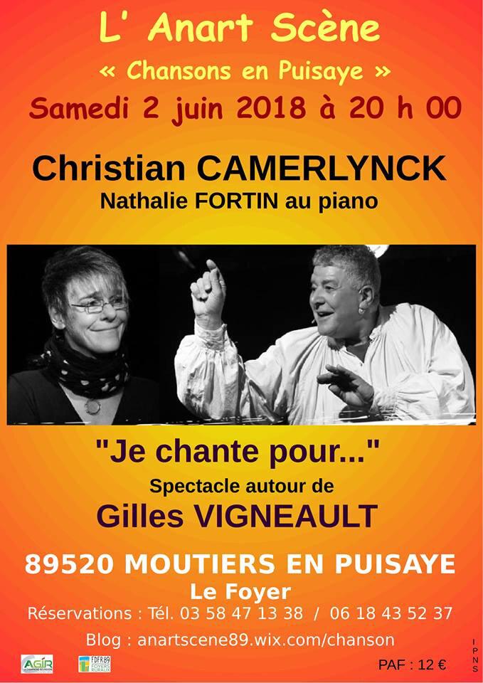 2 juin, place à la chanson à Moutiers