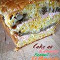 Cake au saumon, fenouil et mimolette