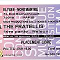 The fratellis - mardi 30 janvier 2007 - elysée montmartre (paris)