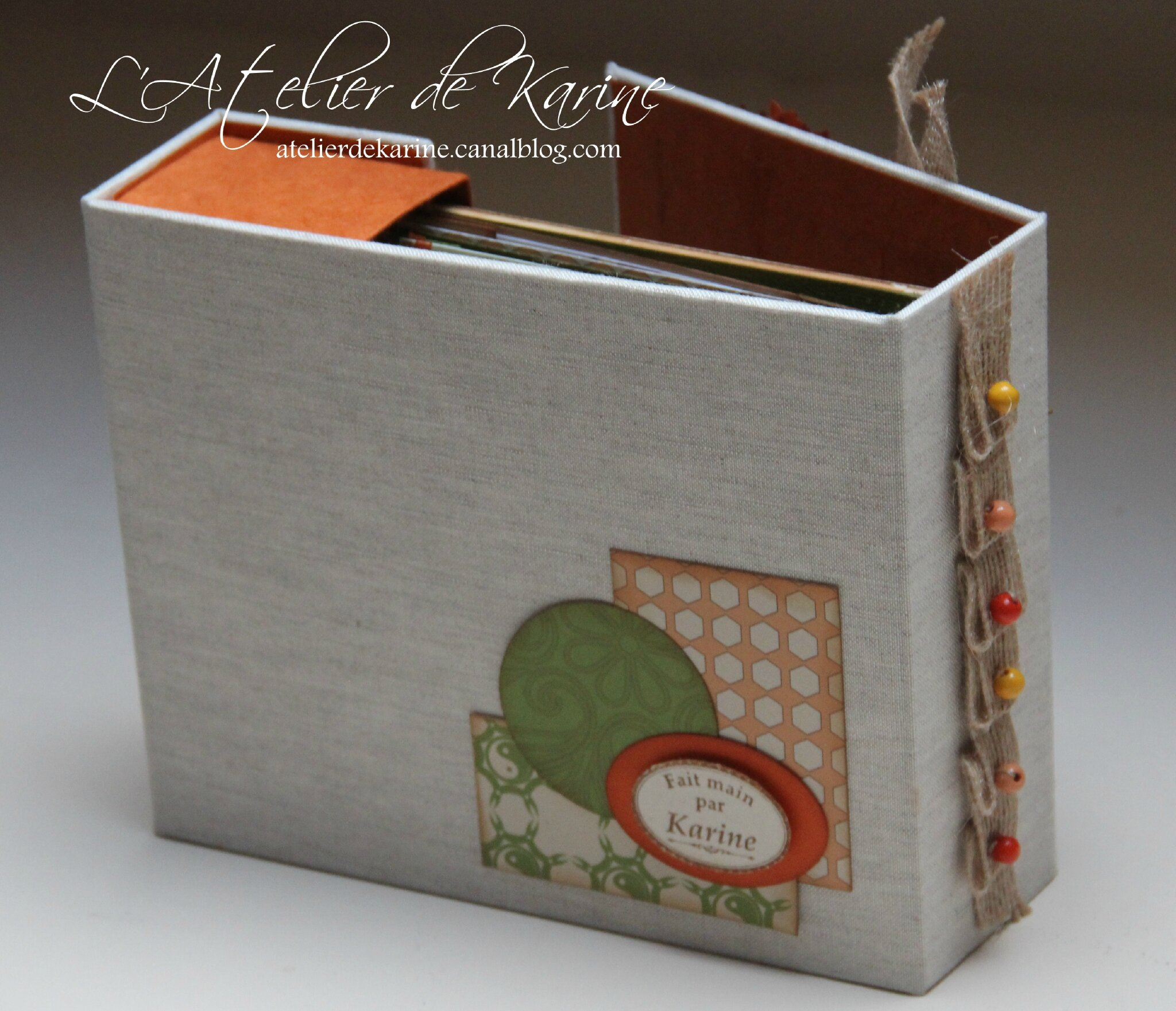 Mini Album et son coffret - Pure Lorelaïl Design 12