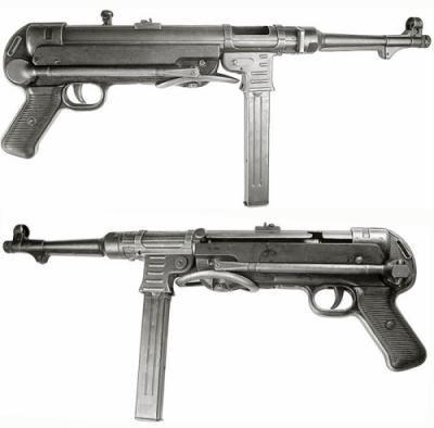 Maschinenpistole 40 Allemand