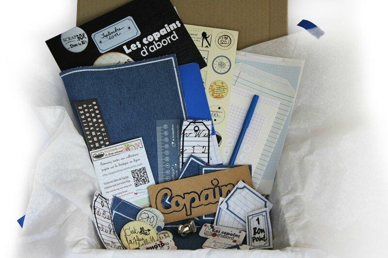 SCRAP BOX SEPT 2012
