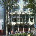 facade d'immeuble à Barcelone