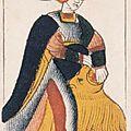 carte XI FORCE - tarot Noblet Paris ca 1650 - letarodotcom