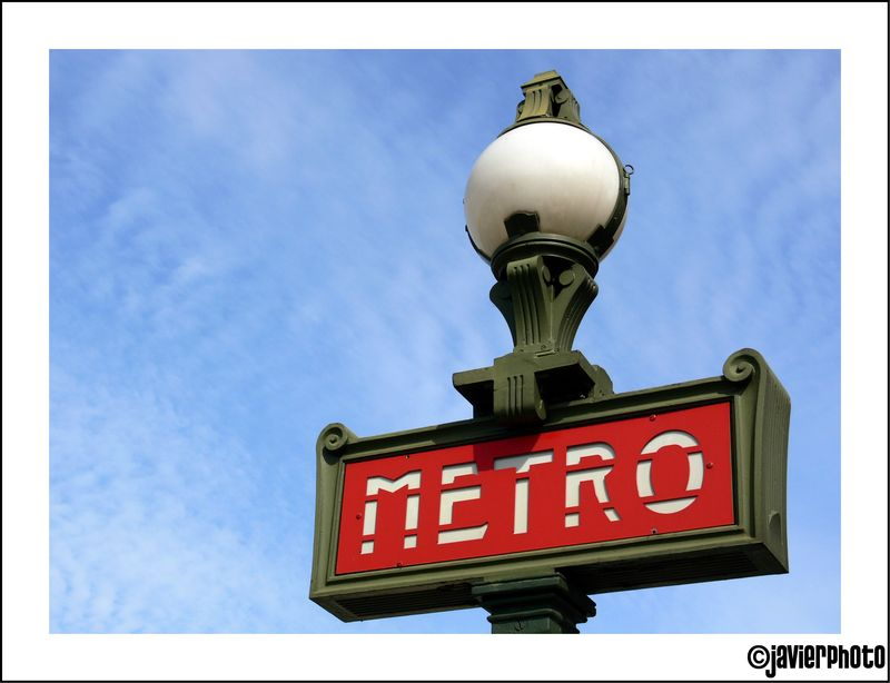 Paris, métro