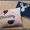 Diy : des coussins cocooning