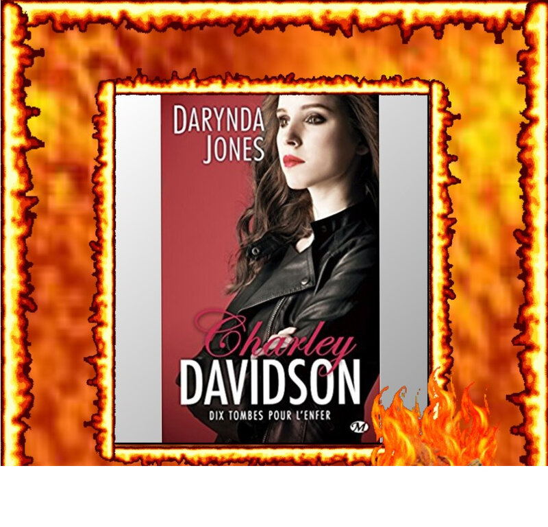 Charley Davidson tome 10 : dix tombes pour l'enfer (Darynda Jones)