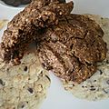 Cookies chocolat-orange.