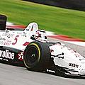 Indy 500: alesi avec newman-haas