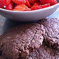 Cookies au nutella express