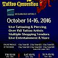 Tattoo convention de tommy 14 - 16 octobre 2016