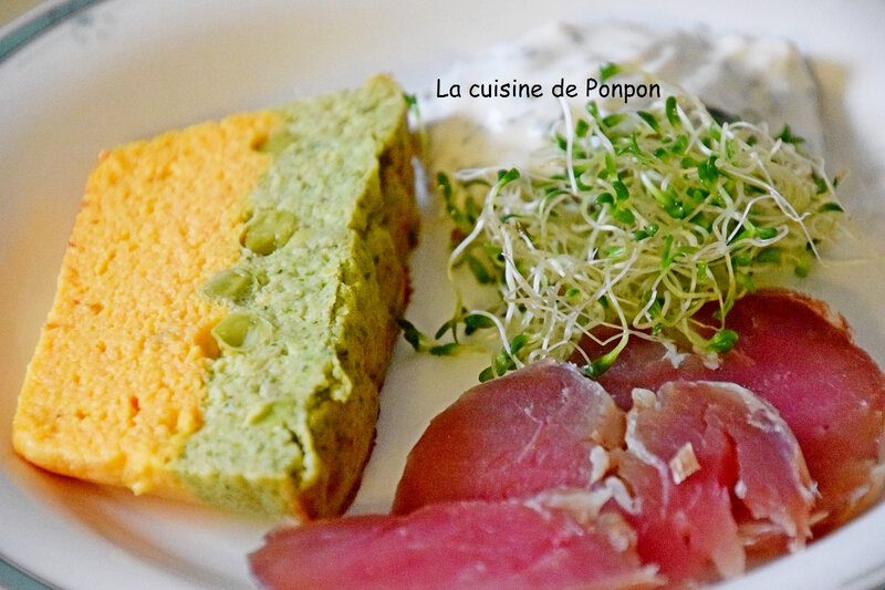 terrine carotte petit pois et brocoli (6)