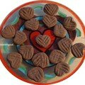 Cœurs à la corne de cerf pour une saint valentin de sorcière, philtre d'amour garanti !!!