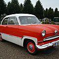 FORD Taunus 15m berline 2 portes 1955 Schwetzingen (1)