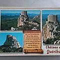 Quéribus - chateau