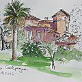 N°6-8 parcs romains / roman parks