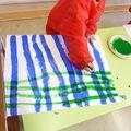 Traits bleus et verts:MS