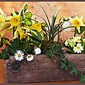 Décoration florale de printemps