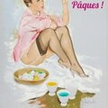 O'perla ne sait pas comment vous souhaiter de joyeuses pâques ...