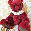 Mon petit ours spécial noël