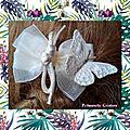 Pince mariage nœud et papillon