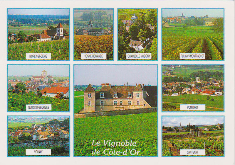 carte vignobles cote d'or jo