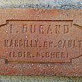 Durand à Marcilly en Gault