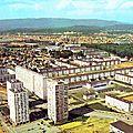 Belfort, vue sur le quartier des Résidences