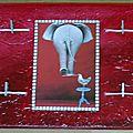 38-Elephant coq 45x24