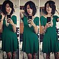 Mademoiselle green...