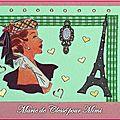 Echange ATC Chez Miou Elégance Marie de Clessé pour Mimi 1