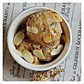La glace au beurre de cacahuète
