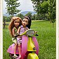 Balade en scooter pour les teen trends + nouvelle adoption - scooter ride for teen trends + new adoption