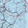 Peyrat la nonière : circuit des 2 vallées (tardes et voueize) effectué partiellement