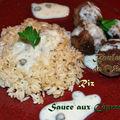 Boulettes de viande à la sauce aux câpres - recette thermomix