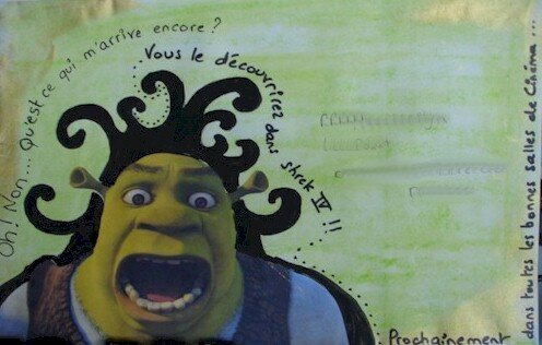 Shrek envoi d'atc pour Grenadine juillet 07