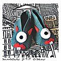 Défi sc and more n° 402 : un monstre gentil, ici c'est une paire de monstres gentils pour des petons mignons!