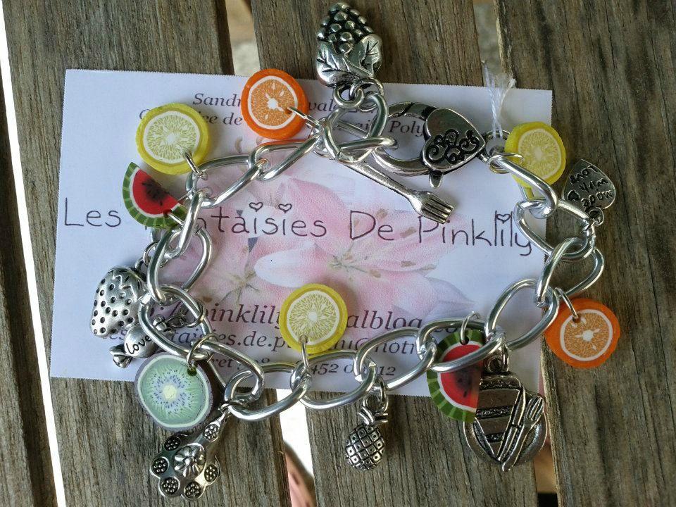 Fruits and Fun, Bracelet 15€ vendu