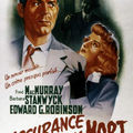 Billy wilder.assurance sur la mort. 1944