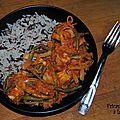 Fricassée de tofu à la tomate