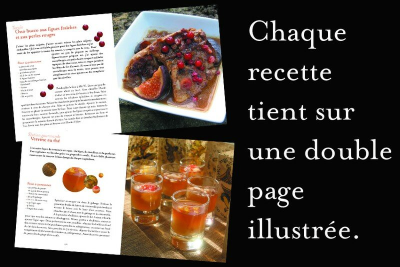Exemple de pages recettes