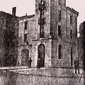 Poste du Théâtre en 1912.