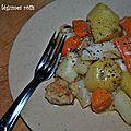 Ragoût aux légumes rôtis