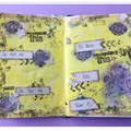 Art journal page 2