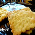 Crackers salés