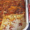 Lasagnes légères, courgette, chorizo & ricotta