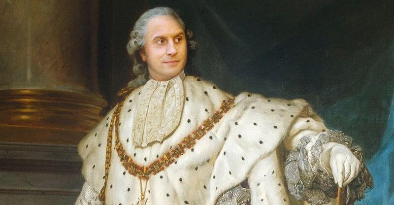 Macron Louis XIV 1