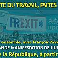 tous mobilisés pour la 1re grande manifestation de l'upr le 1er mai à paris !