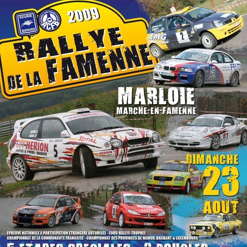 Rallye de la Famenne 2009 2
